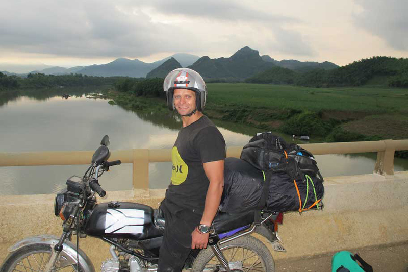 Things to do in Vietnam-Taking a Motorbike thru Vietnam