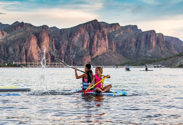 Full Moon Camping :: Saguaro Lake