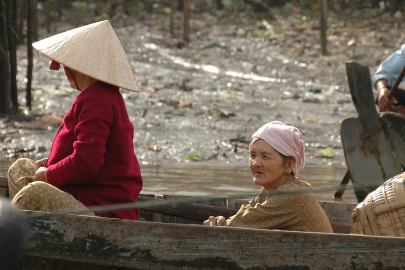 Women on the Mekong - Mekong Delta, Vietnam