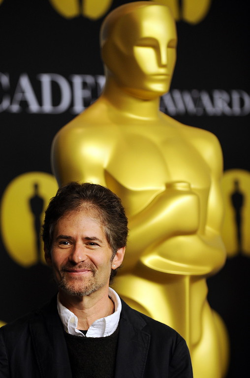 . Musician James Horner arrives at the 82nd annual Academy Awards Nominee Luncheon at the Beverly Hilton Hotel in Beverly Hills, California on February 15, 2010.  (GABRIEL BOUYS/AFP/Getty Images)