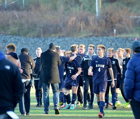 Avon Boys Soccer State Champions