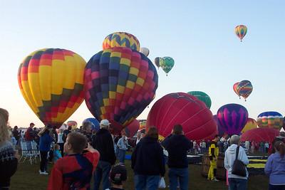 2004 Balloonfest - Lake George