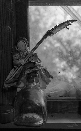 kitchen goddess in window