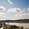 Photos taken from the Walkway over the Hudson Railroad Bridge over the Hudson River.