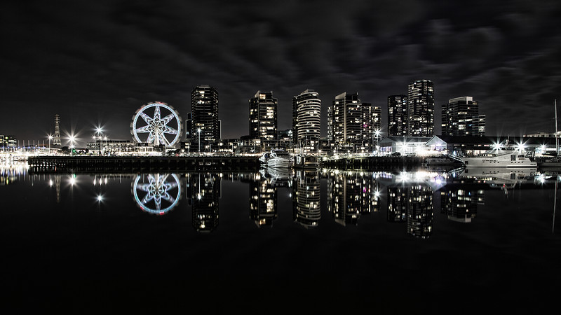 Docklands By Night