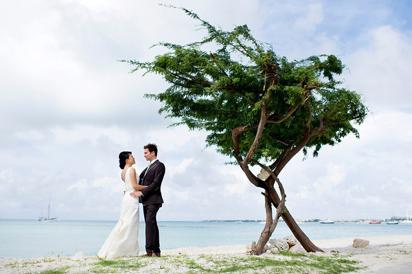 Shinny & Adam Wedding Day & Trash the Dress Favorites: Aruba