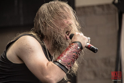 Amon Amarth at Mayhem Festival