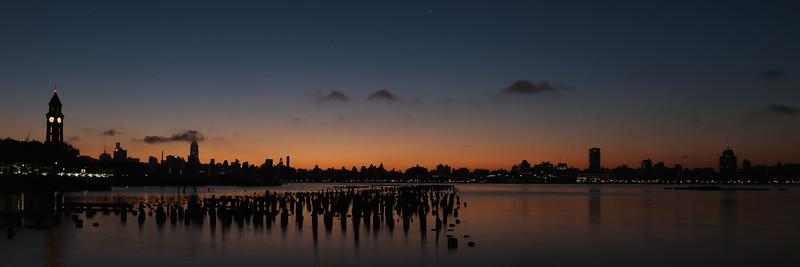 Sunrise over NYC 150907
