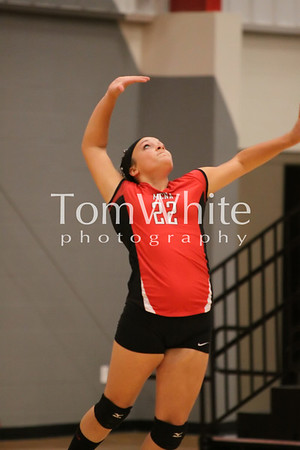 Mena vs Booneville - 9th Grade Volleyball 2012