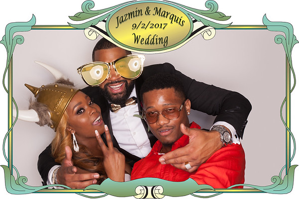 Jazmin and Marquis Photo Booth