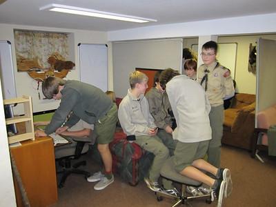 Troop Meeting - Oct 25