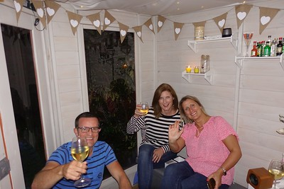 Dinner with Rach, Wayne & Katie 2018