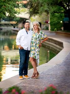 Amber & Curtis Engagement at Las Colinas