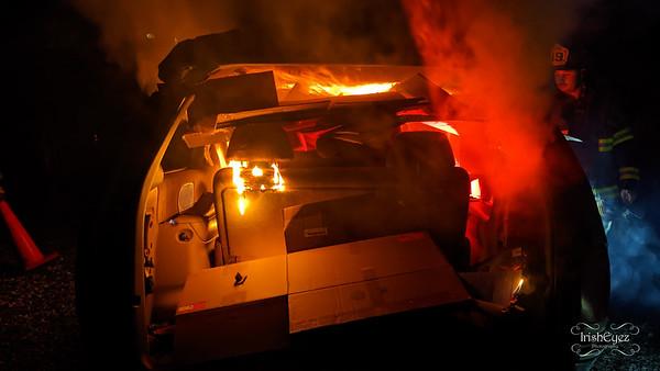 Car Fire Training - October 2020