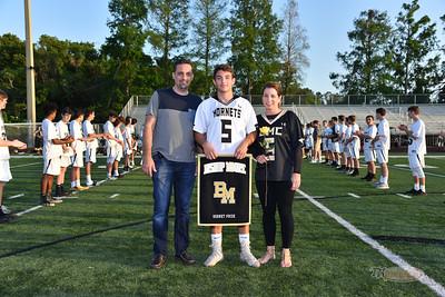 Bishop Moore Senior Night Boys Lacrosse