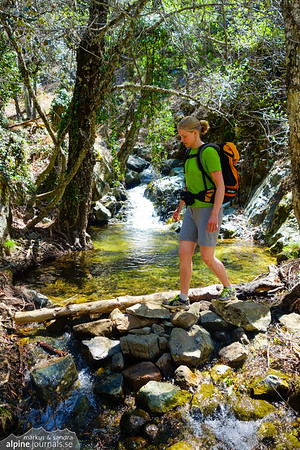 Caledonia and Persefoni Trail, Troodos Mountains, Cyprus