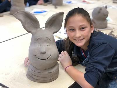 5th Grade - Clay Character Busts