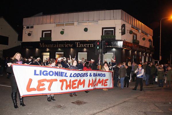 Ligoniel Combine 600th Night