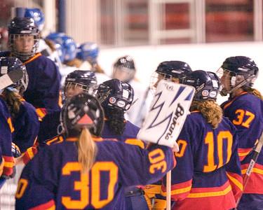 Women's Hockey - Queen's at Toronto 20061029