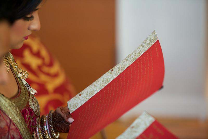 Le Cape Weddings - Indian Wedding - Day 4 - Megan and Karthik Exchanging Gifts 4.jpg