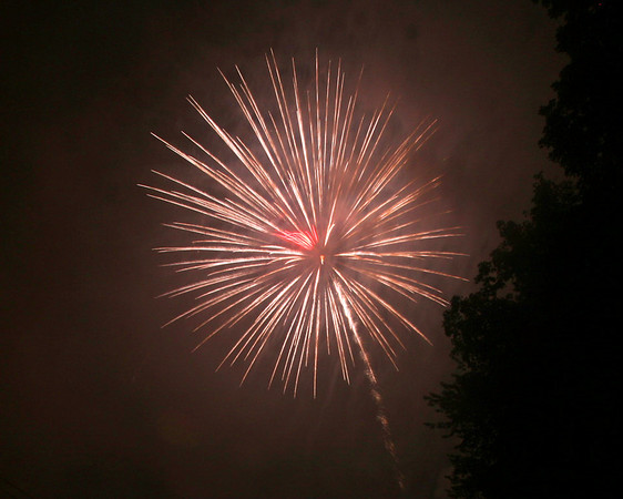 Pound Ridge Fireworks 2008