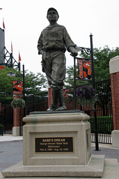 BASEBALL PARKS - ORIOLE PARK AT CAMDEN YARDS - BALTIMORE ORIOLES