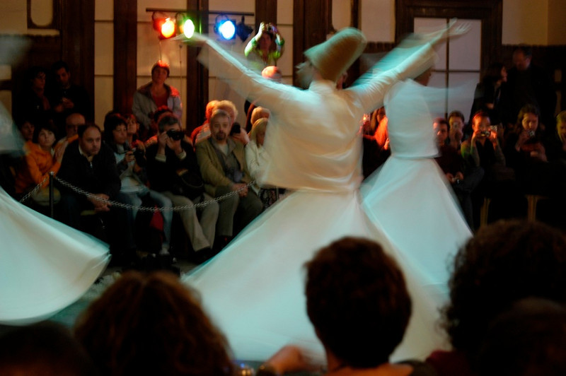 Whirling Dervish.