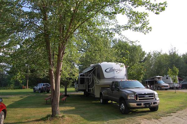 Journal Site 200: Bethel Outdoor Adventure & Campground, Bethel, ME - July 21, 2011
