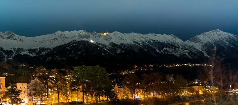 Innsbruck at Night