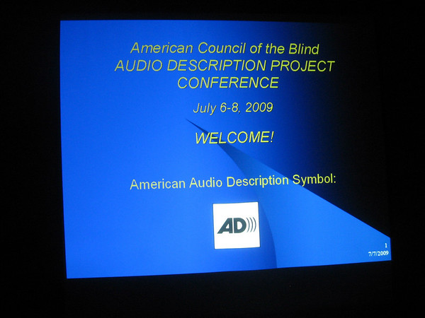 ACB's Audio Description Project