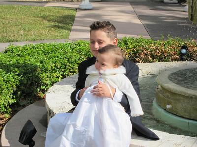 Abella's Baptism December 26, 2010