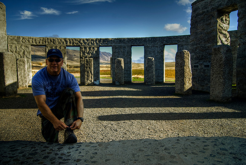 Stonehenge, Maryhill, Washington, Columbia River Gorge.
