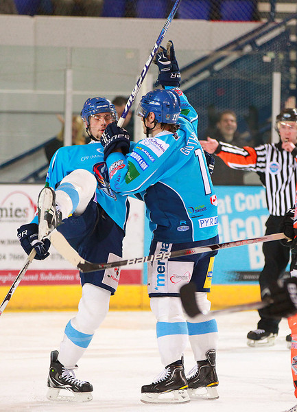 Blaze v Sheffield Steelers - 10/12/2011