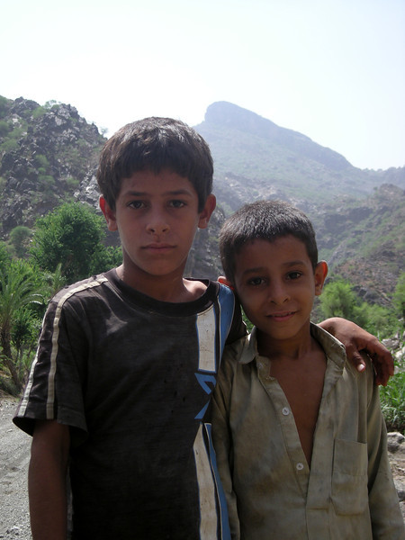 boys in Wadi Surdad