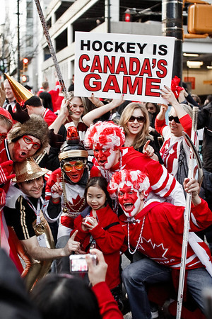 Hockey Is Canada's Game!