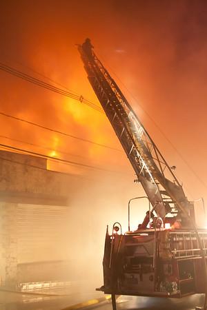East Newark NJ 3rd alarm, 246 Grant Ave. 07-28-15