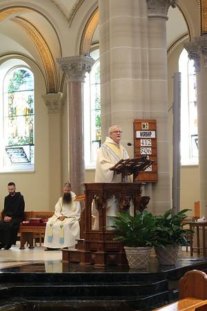 2020 Archabbot Martin de Porres Bartel's first Mass