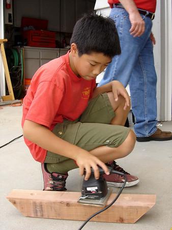 7/22/2006 - Daneil Young & Leo Yuan's Eagle Project