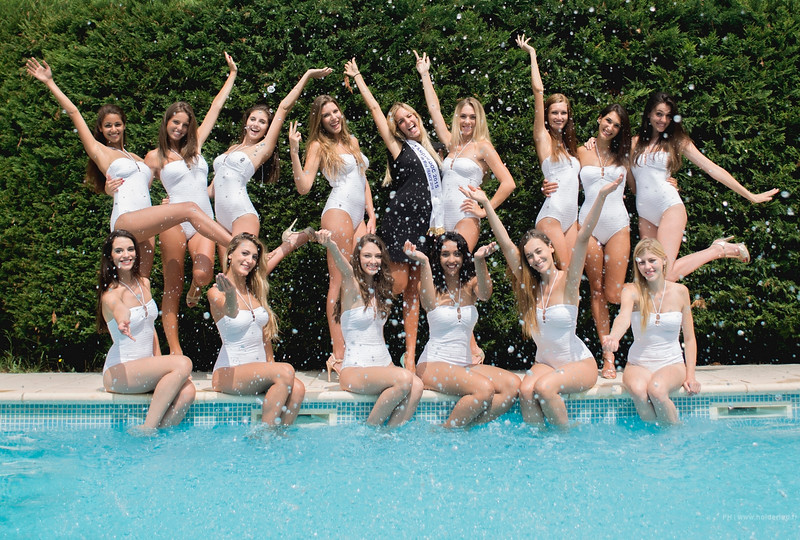 Portraits des finalistes Miss Languedoc-Roussillon