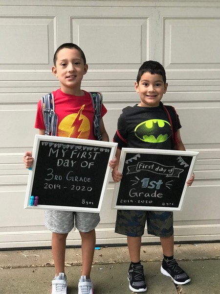 Anthony & Alexander | 3rd grade & 1st grade | Block House Creek Elementary