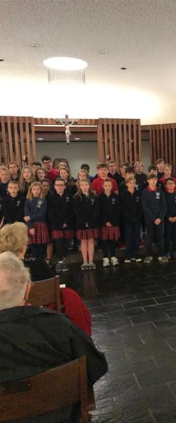 Holy Souls 6th Grade Choir Christmas Concert (Dec. 2018)