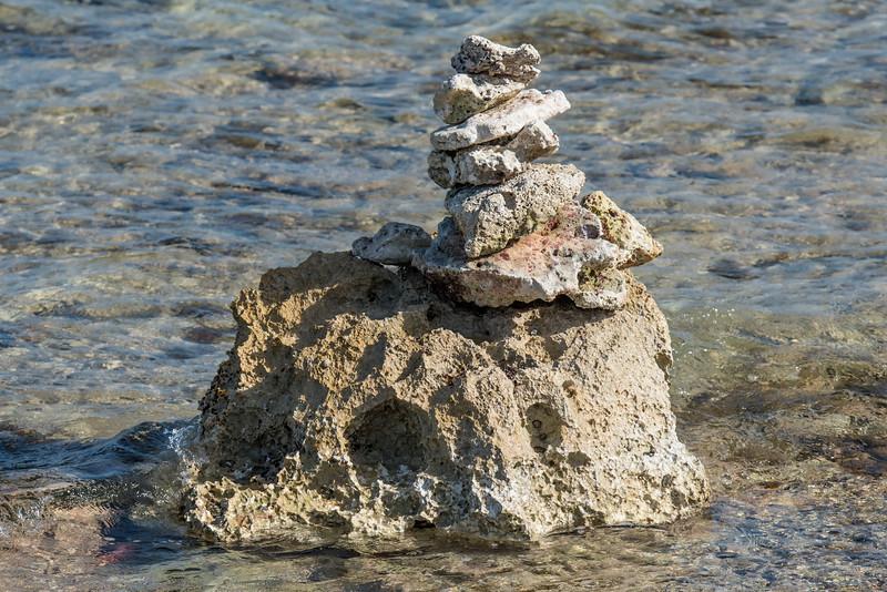 Rock Sculpture - Cozumel, Meico