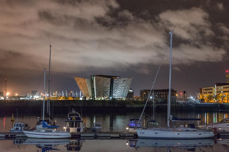 Titanic Belfast - Belfast, Northern Ireland, UK - August 13, 2017