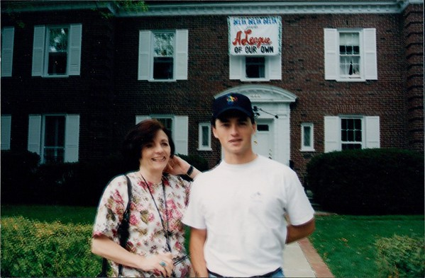 1994 Danny Visits the Desmonds in Michigan