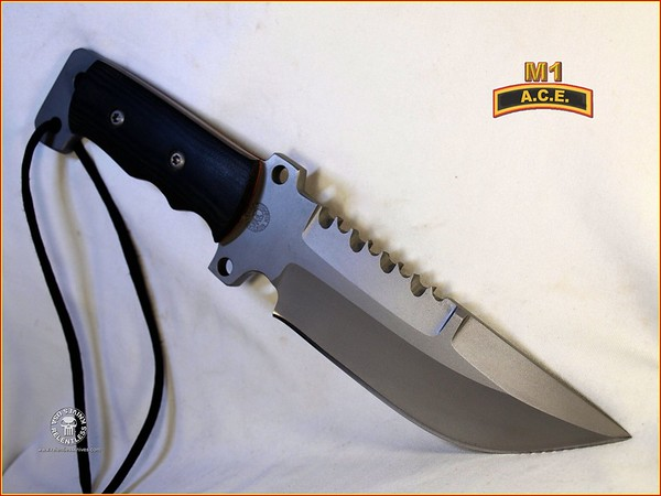 Relentless Knives M1 ACE 8670 5VC08606S3558052R Complete