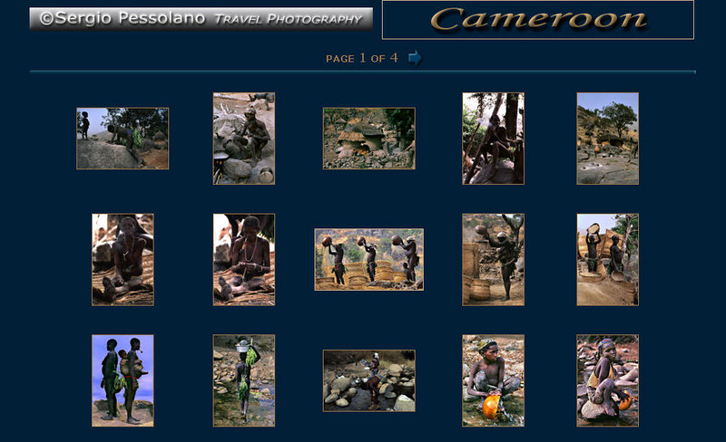 http://www.sergiopessolano.it Fotografie di viaggio, di particolare bellezza la galleria dedicata al Cameroon