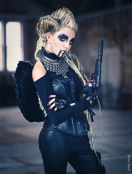Resident Evil Themed Fashion Shoot, Boise Photographer