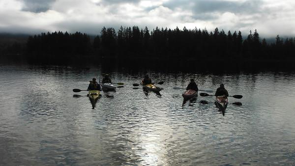 Lake Kapowsin (October 2013)