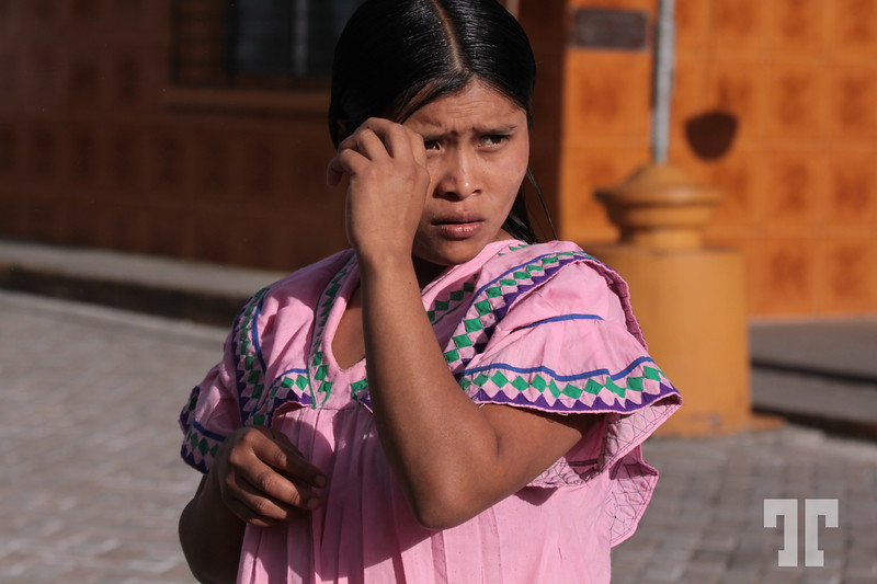 Kuna Yala young woman, Panama