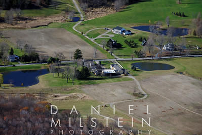604 Verbank Rd and surrounding area - aerials